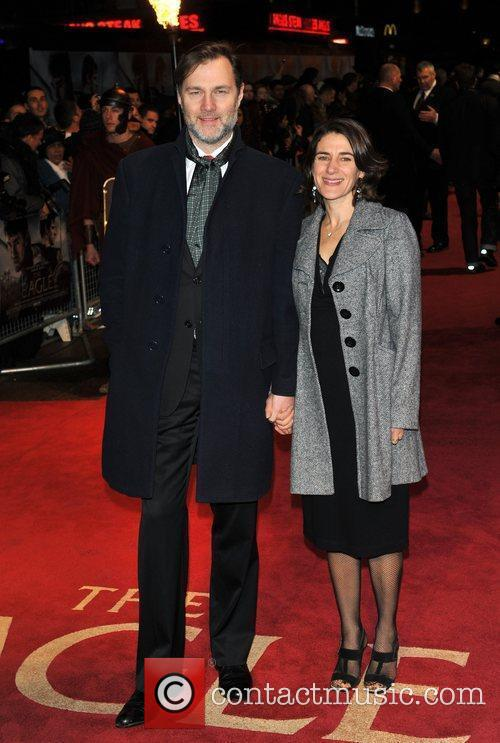 David Morrissey UK film premiere of 'The Eagle'...