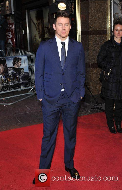 Channing Tatum UK film premiere of 'The Eagle'...