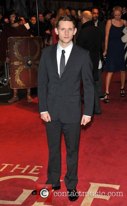 Jamie Bell UK film premiere of 'The Eagle'...