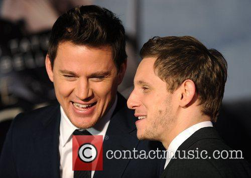Channing Tatum and Jamie Bell The Eagle -...