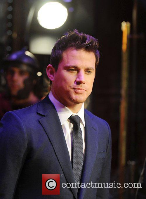 Channing Tatum at the premiere of The Eagle...