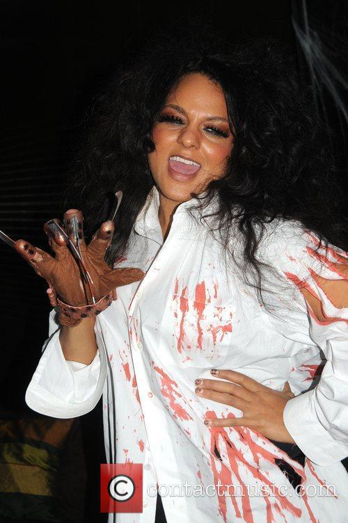Marsha Ambrosius 'The Eagles Wives Halloween Party' held...