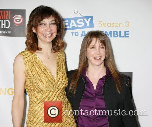 Illeana Douglas and Laraine Newman