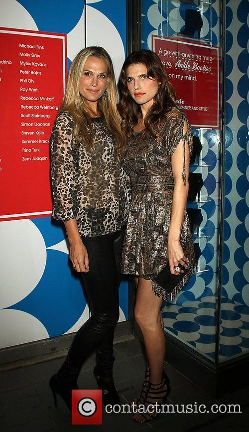 Molly Sims and Lake Bell eBay Inspiration Shop...