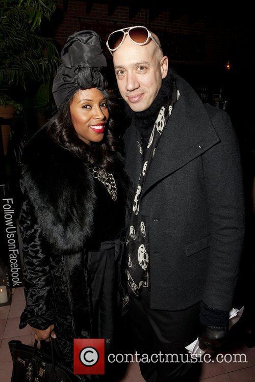 June Ambrose and Robert Verdi Ecco Domani Fashion...