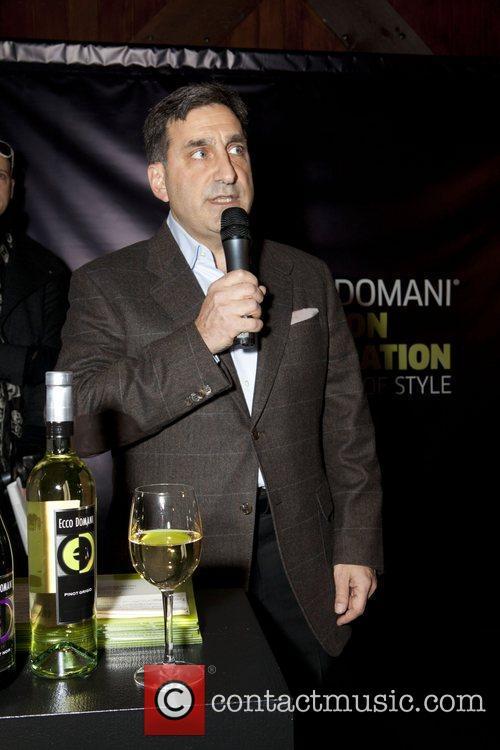 Roger Nebadian Ecco Domani Fashion Foundation Celebrates a...