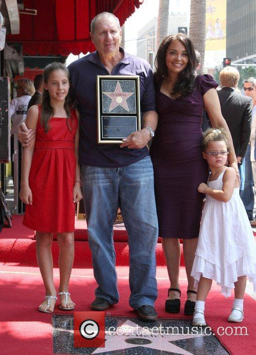 Ed O'Neill is honoured with a star on...