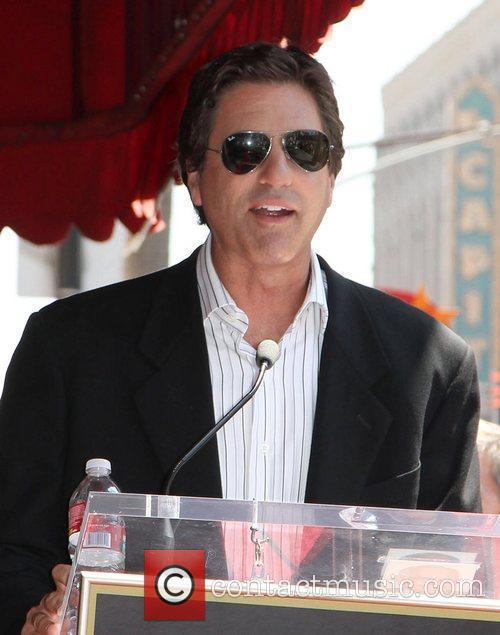 Speaks at the star ceremony on the Hollywood...