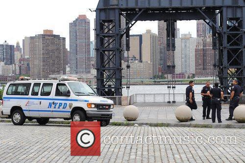 NYPD guarding New York City's waterfront parks ion...
