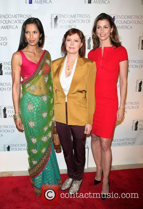 Padma Lakshmi, Susan Sarandon and Deborah Castillero The...