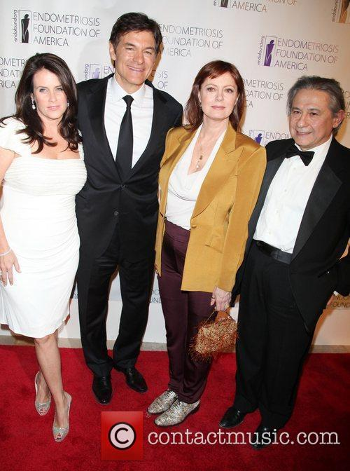 Lisa Oz, Dr. Mehmet Oz, Susan Sarandon and...