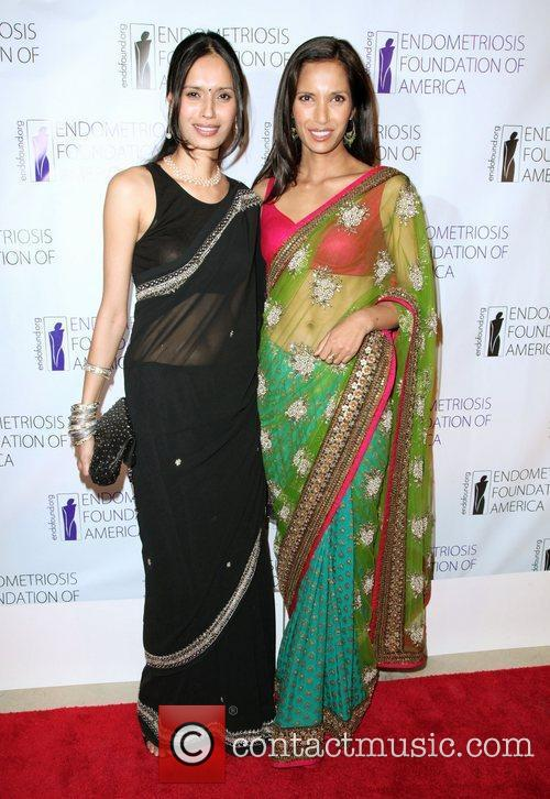 Guest and Padma Lakshmi  The Endometriosis Foundation...