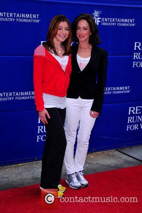Alyson Hannigan and Lilly Tartikoff 18th Annual EIF...