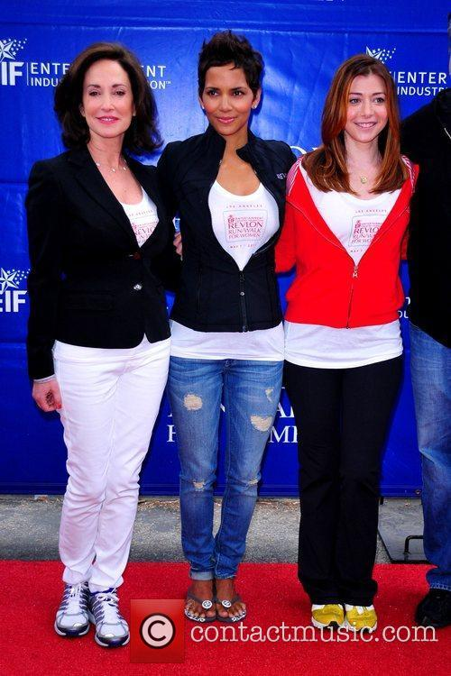 Lilly Tartikoff, Alyson Hannigan and Halle Berry 6