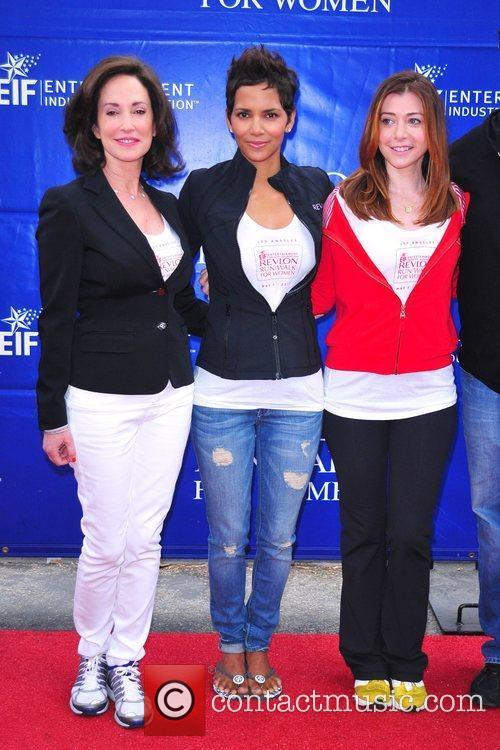 Lilly Tartikoff, Alyson Hannigan and Halle Berry 2