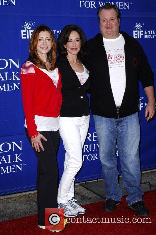 Alyson Hannigan, Lilly Tartikoff, Eric Stonestreet 18th Annual...