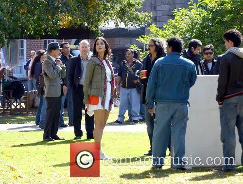 Bollywood film 'Ek Tha Tiger' being shot on...