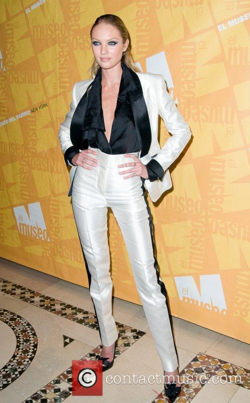 Candice Swanepoel El Museo's 2011 Gala - Arrivals...