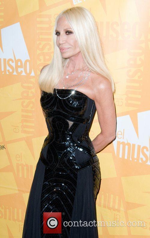 Donatella Versace El Museo's 2011 Gala - Arrivals...