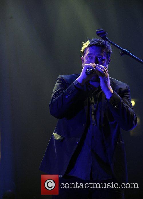 Elbow perform live at the Manchester Evening News...