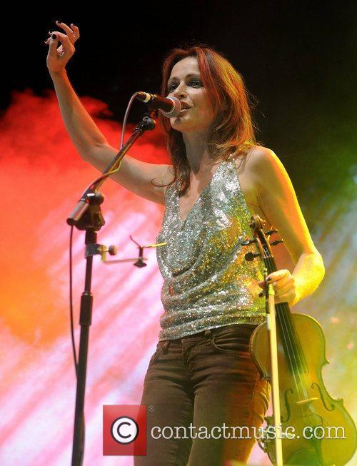 Sharon Corr performs during Electric Picnic Festival 2011...