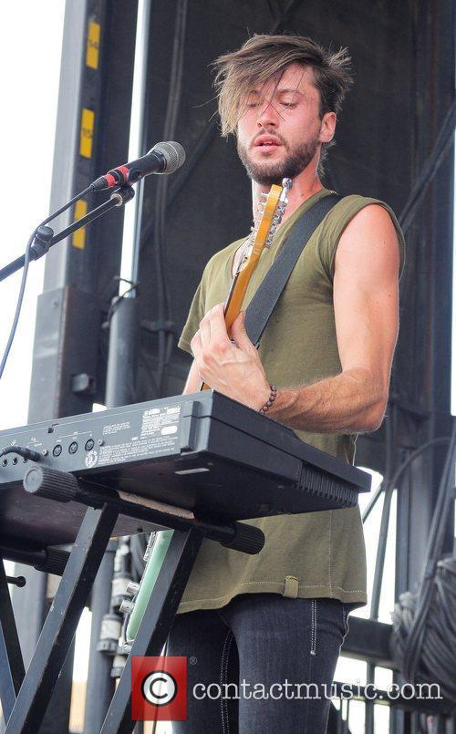 Electric Touch performs during the 2011 Vans Warped...