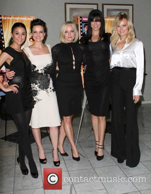 Adrianne Palicki, Carla Gugino, Marley Shelton and Malin...