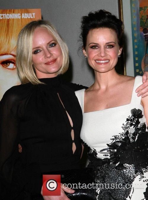 Marley Shelton and Carla Gugino Los Angeles special...