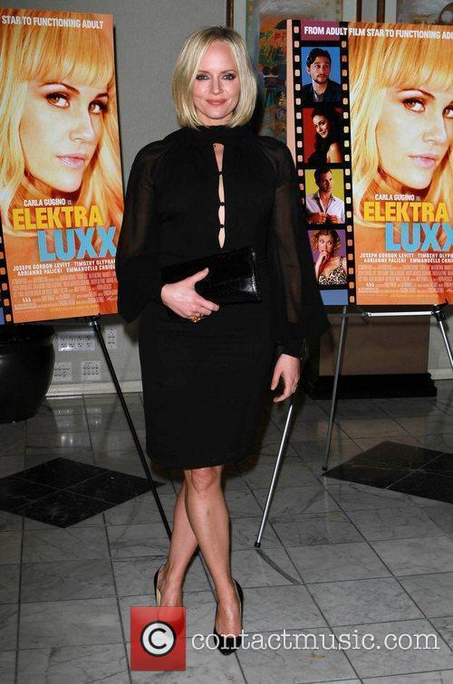 Marley Shelton Los Angeles special screening of 'Elektra...