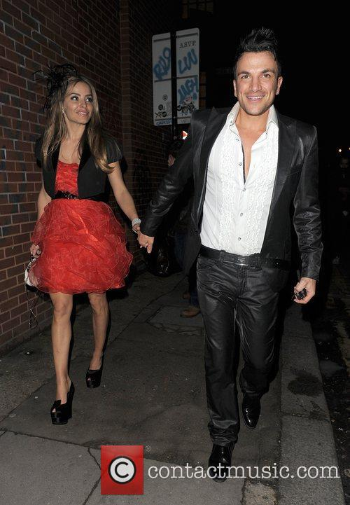 Peter Andre and his new girlfriend Elen Rivas...