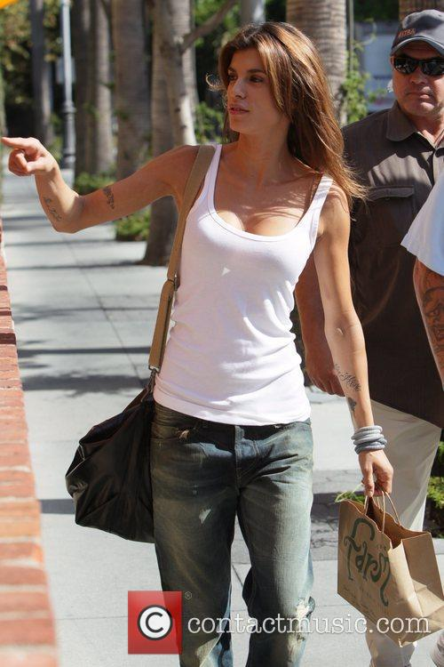 Departs The Grove after filming an appearance for...