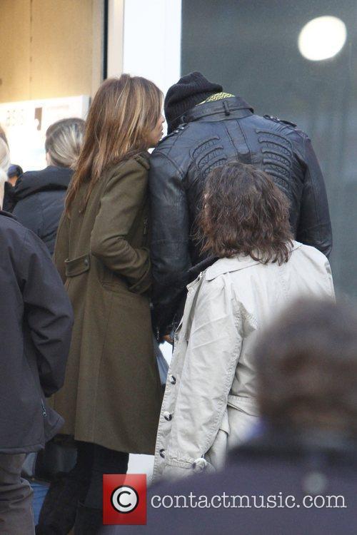Elisabetta Canalis and her alleged new boyfriend Mehcad...
