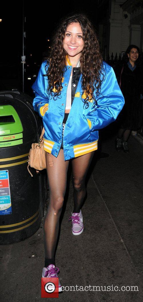 Eliza Doolittle out and about in Soho
