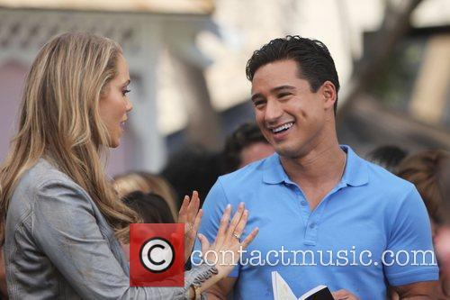 Elizabeth Berkley and Mario Lopez 11