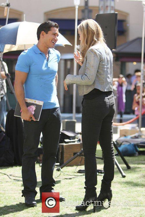 Elizabeth Berkley and Mario Lopez 10