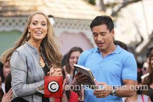 Elizabeth Berkley and Mario Lopez 21