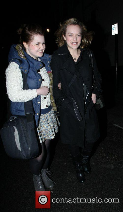 'Get Him To The Greek' actress, Elisabeth Moss...