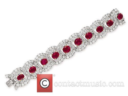 A Suite of Ruby and Diamond Jewelry By...