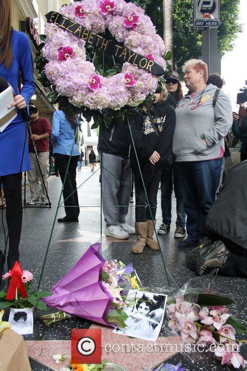 Elizabeth Taylor, Walk Of Fame