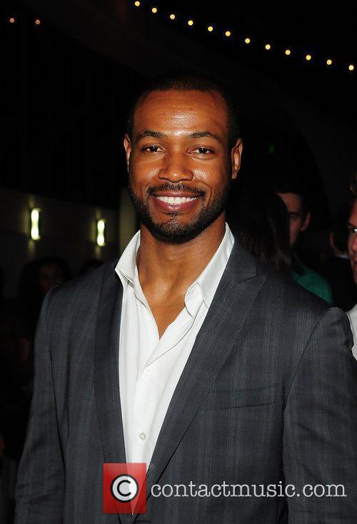 Isaiah Mustafa  Launch party for ELLE Spa...