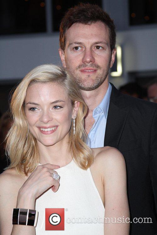 Jaime King and Kyle Newman Launch party for...