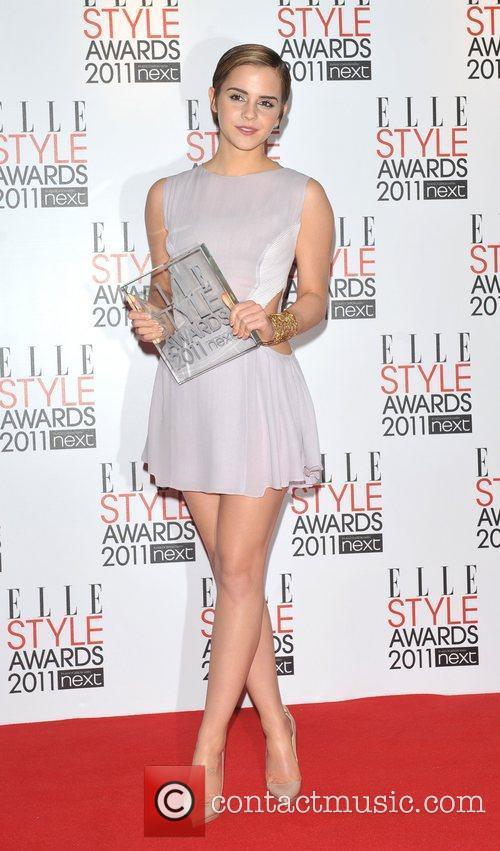 Emma Watson - ELLE Style Awards 2011 held at the Grand Connaught Rooms ...