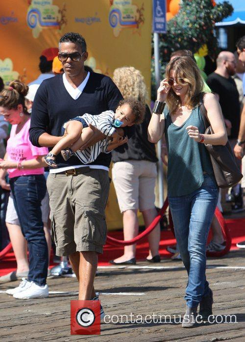 Ellen Pompeo and Santa Monica Pier 6