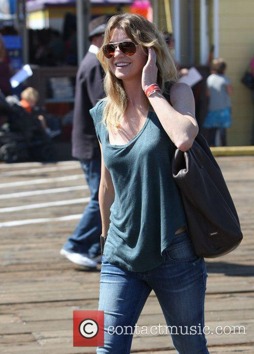 Ellen Pompeo and Santa Monica Pier 10