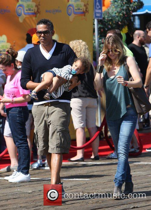 Ellen Pompeo and Santa Monica Pier 7