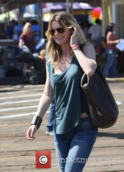 Ellen Pompeo and Santa Monica Pier 11