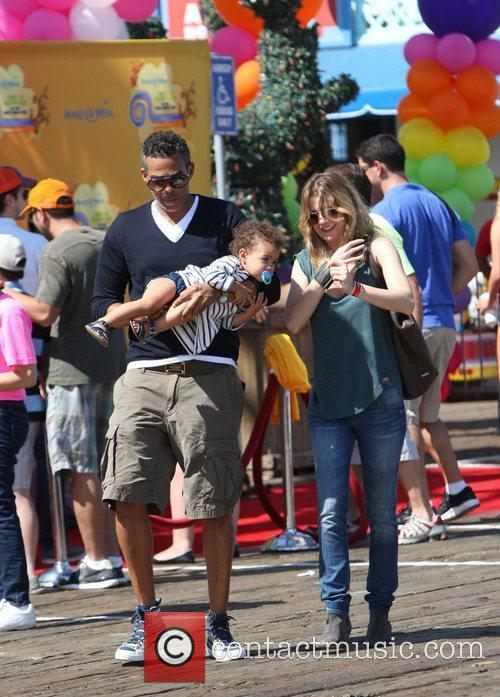 Ellen Pompeo and Santa Monica Pier 4