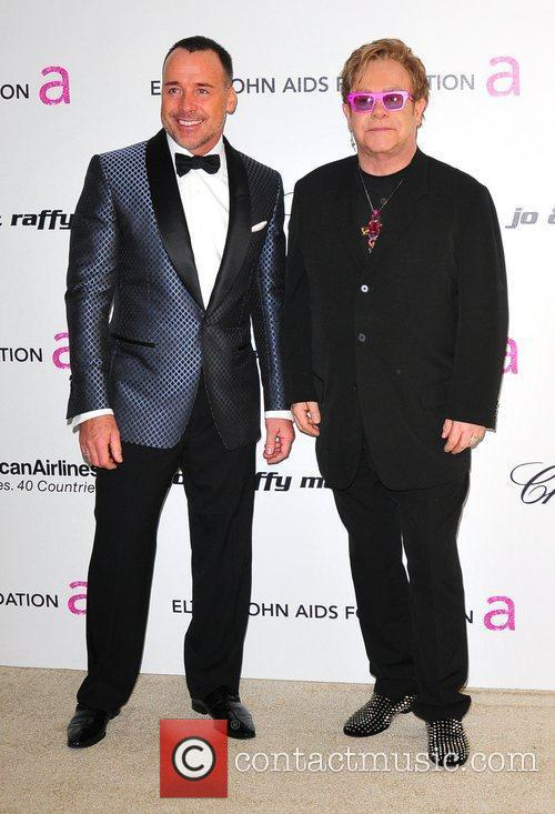 Elton John, David Furnish and Academy Awards 6