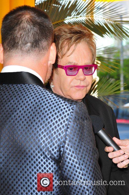 Elton John, David Furnish and Academy Awards 2