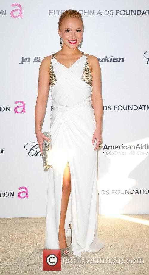 Hayden Panettiere, Elton John and Academy Awards 3